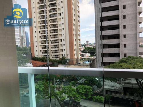 edifício immani - apartamento residencial à venda, jardim, santo andré. - ap4527