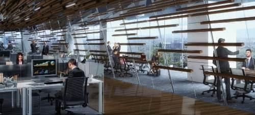 edificio inteligente piso 15 al 35 de 1300 m2 chapultepec