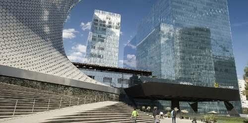 edificio inteligente, piso 17 con 3070 m2 carso3