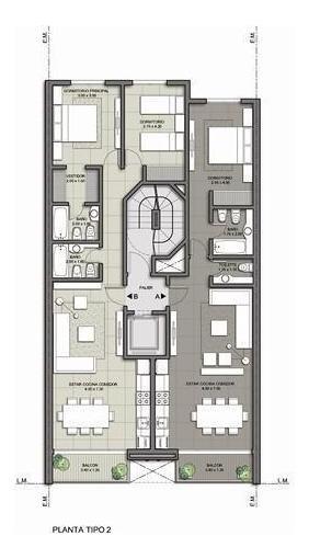 edificio manilu 2 - 1 amb.a estrenar, plaza colon
