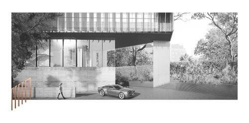 edificio nuevo en obra gris 804 m2 por planta distrito