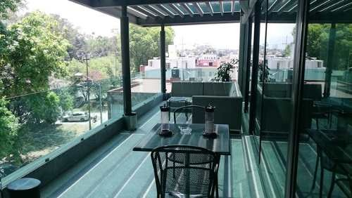 edificio nuevo en renta para oficinas en ciudad jardin coyoacan