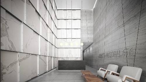 edificio obra gris, piso 1  al   11  con 330 m ejer676