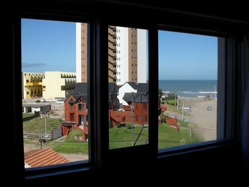 edificio orion  depto.de 3 ambiente balcon con vista al mar
