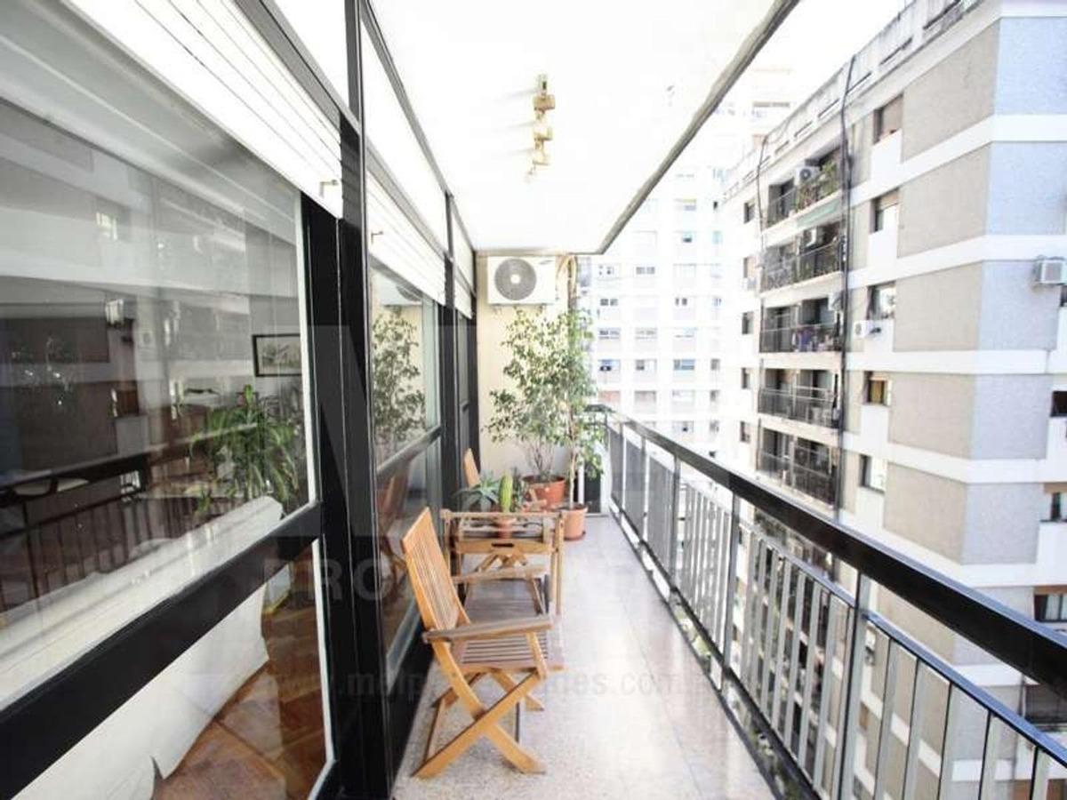 edificio pampuro - impecable semipiso 5 amb reciclado -