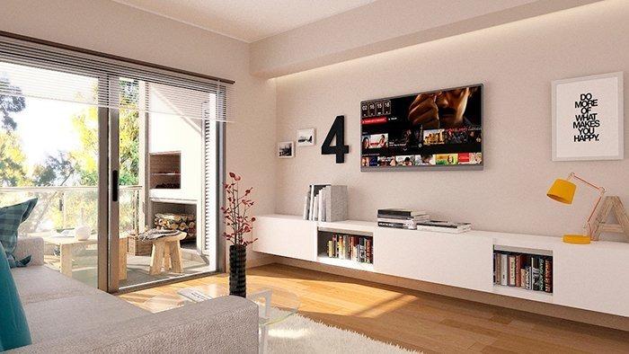 edificio sustentable - departamento 1 dormitorio - calidad premium