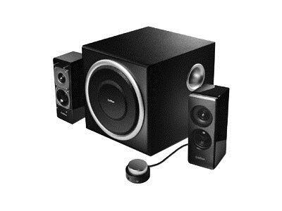 edifier altavoces multimedia de s330d, negro