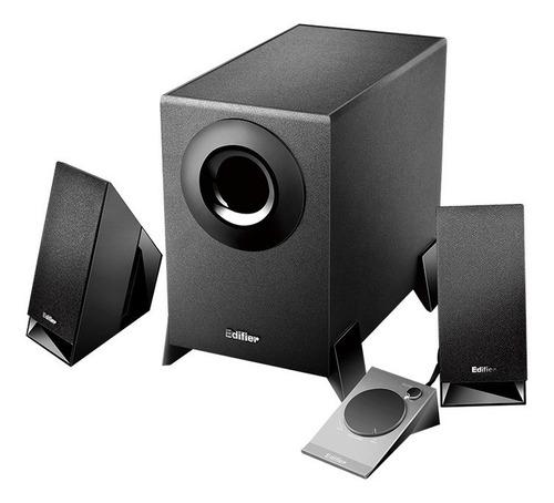 edifier m1360 parlantes 2.1  mute pc tv control volumen