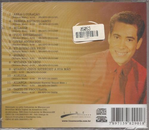 edilson maia - seleção de ouro - raridade - cd - gospel