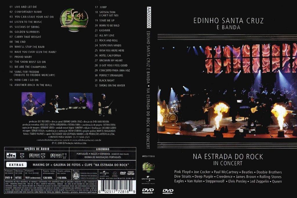 edinho santa cruz dvd
