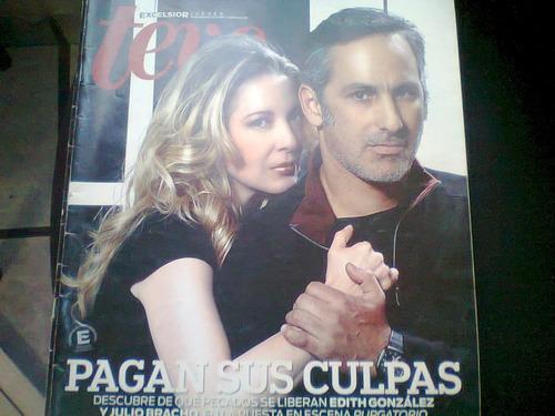 edith gonzalez y julio bracho en revista teve del 2012