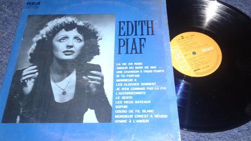edith piaf lp en sus mejores años