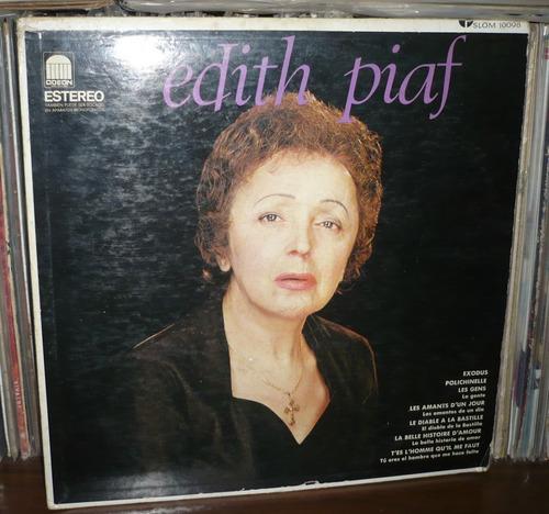 edith piaf lp slom 10098 hecho en méxico