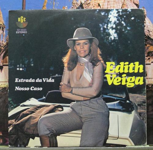 edith veiga estrada da vida compacto vinil rge 1981 estéreo