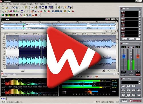 editor masterizador wave lab 6  +  plug-ins