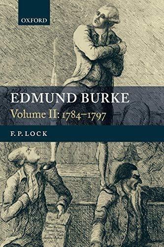 edmund burke, volume ii : f. p. lock