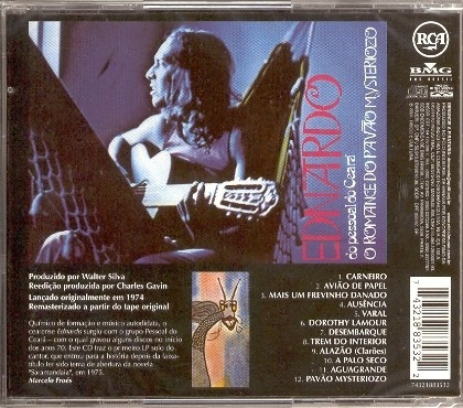 ednardo romance do pavão mysteriozo cd original lacrad frete