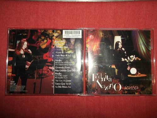 ednita nazario - acustico cd usa ed 2002 mdisk