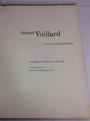 edouard vuillard, andrew carnduff ritchie (en inglés)