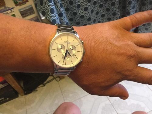 edox les vauberts cronometro suizo
