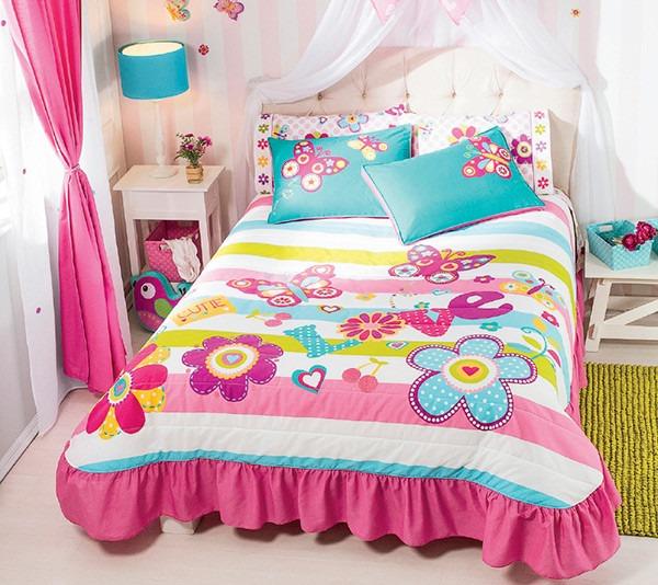 Edrecolcha colcha ind fiori ni as vianney envio gratis - Ropa de cama para literas ...