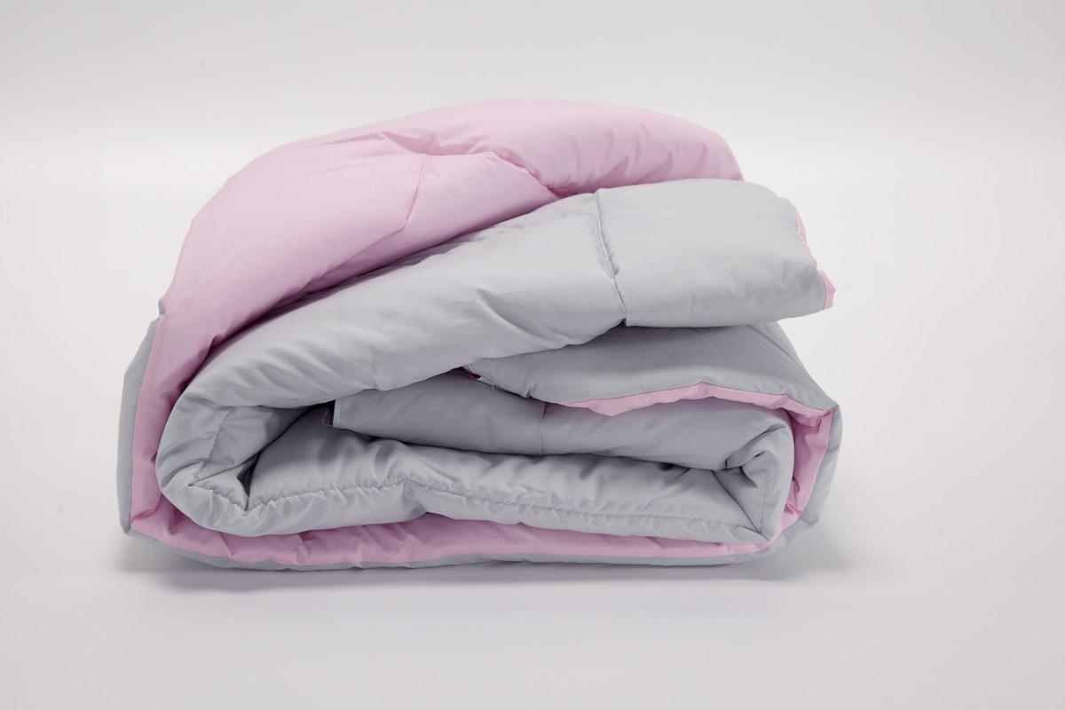 fe78d47c58 edredom berço dupla face 100% algodão rosa cinza. Carregando zoom.