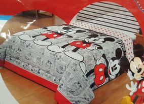 1af7e759d8 Edredom Casal Minnie Mickey - Roupa de Cama no Mercado Livre Brasil