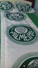 091526b86a Edredom Palmeiras Solteiro Palmeiras - Roupa de Cama no Mercado Livre Brasil