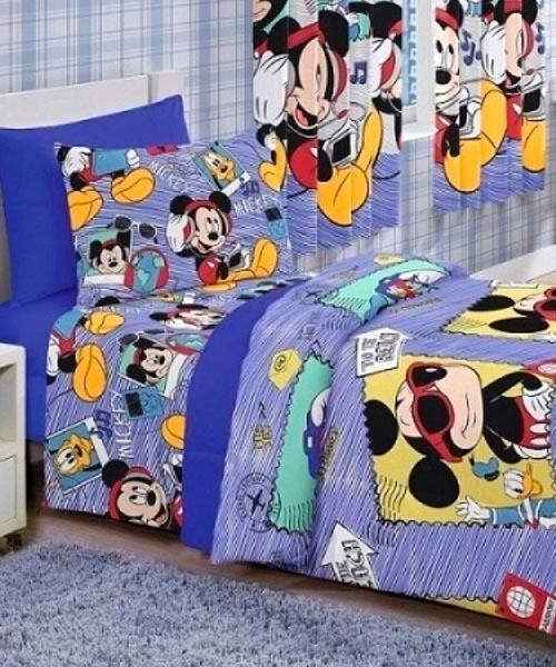 c8febbeeed Edredom Infantil Mickey Sound - R  99