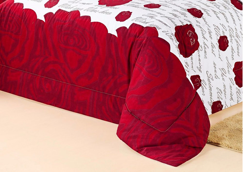 edredom jg lençol casal padrão algodão 9 p estampado pág: 25