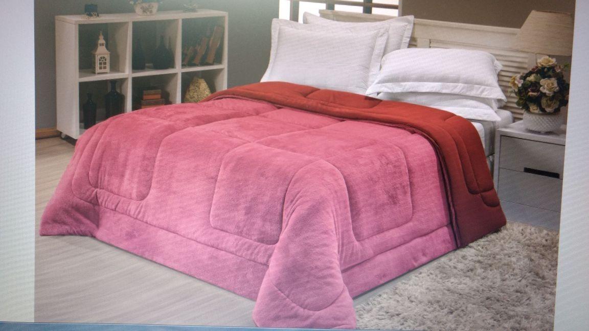 7050f8ed65 edredom malha solteiro coberdrom manta soft felpuda cobertor. Carregando  zoom.
