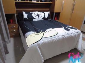 bc3cb01777 Edredom Queen Mickey 9991609 Amlb 1609 1 Mmlb5990 - Roupa de Cama no  Mercado Livre Brasil