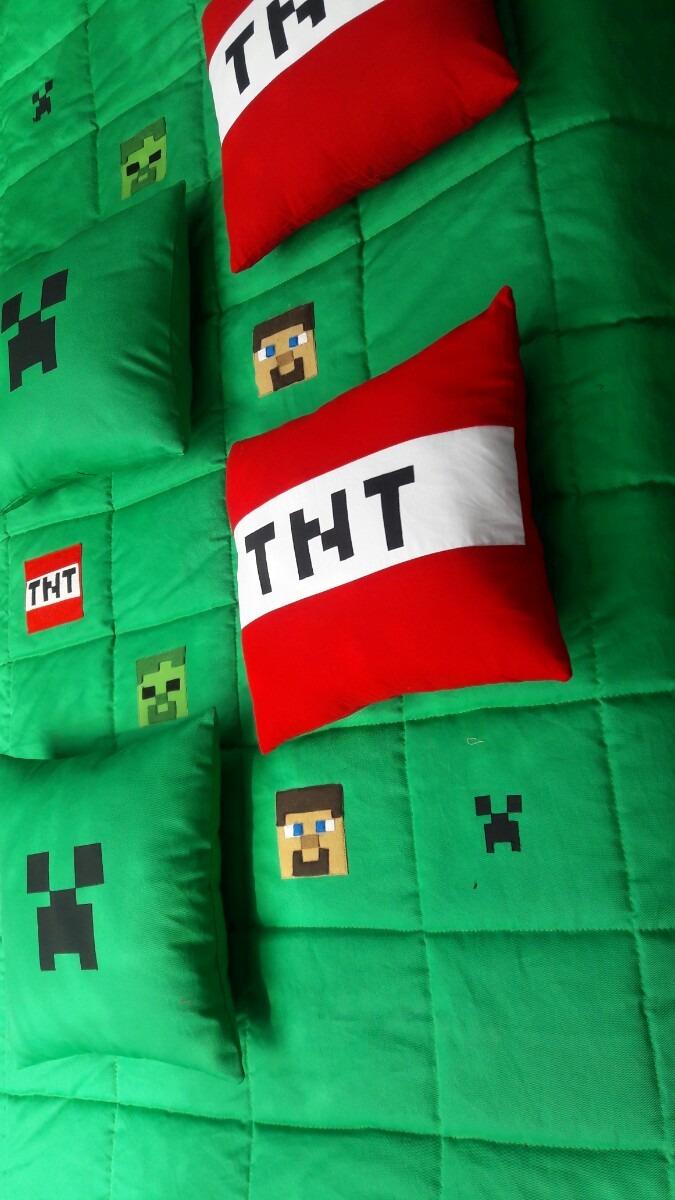 Edredom Minecraft   R$ 320,00 em Mercado Livre