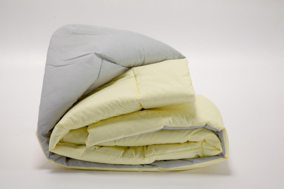 f11f912546 edredom mini cama dupla face 100% algodão amarelo cinza. Carregando zoom.