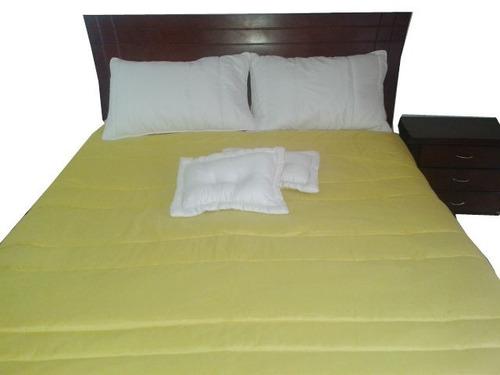 edredón alcoba cama doble