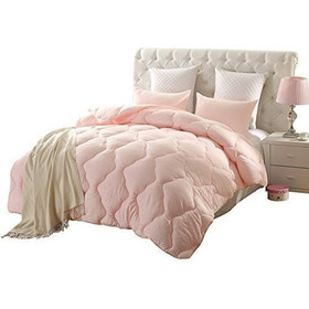 Edredón Alternativo Cobertor Rosa Pastel  Hipoalergénico