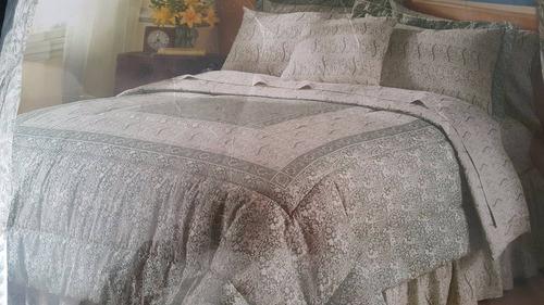 edredon cama queen
