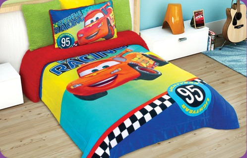 Edredon Cars Hd Disney Matrimonial   $ 549.00 en Mercado Libre