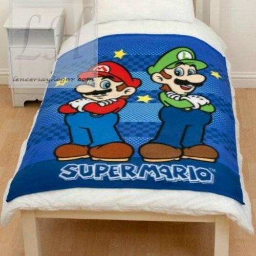 Edredon De Mario Bros!!!!   Bs. 23,40 en Mercado Libre