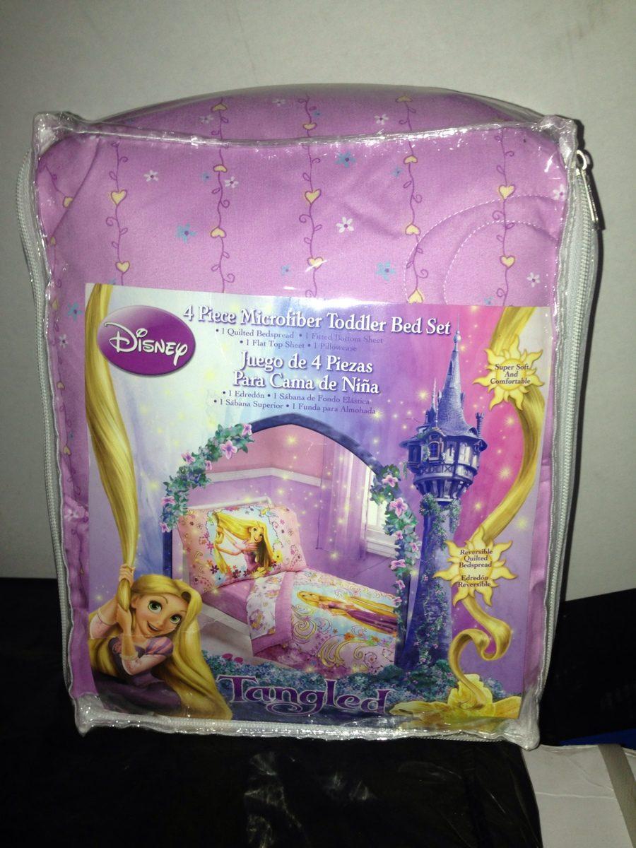 Edredon Disney Cama Cuna De Rapunzel Nuevo   Bs. 3.500,00 en