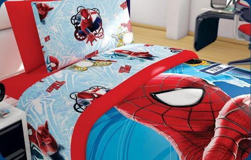 Edredon Hd Spiderman Marvel Matrimonial   $ 549.00 en Mercado Libre