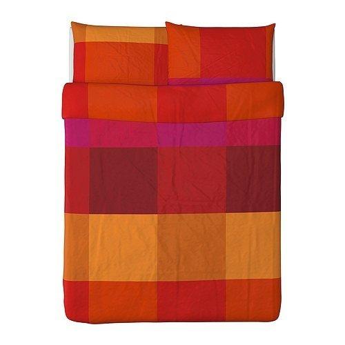 edred n ikea brunkrissla y fundas de almohada full queen 2 en mercado libre. Black Bedroom Furniture Sets. Home Design Ideas