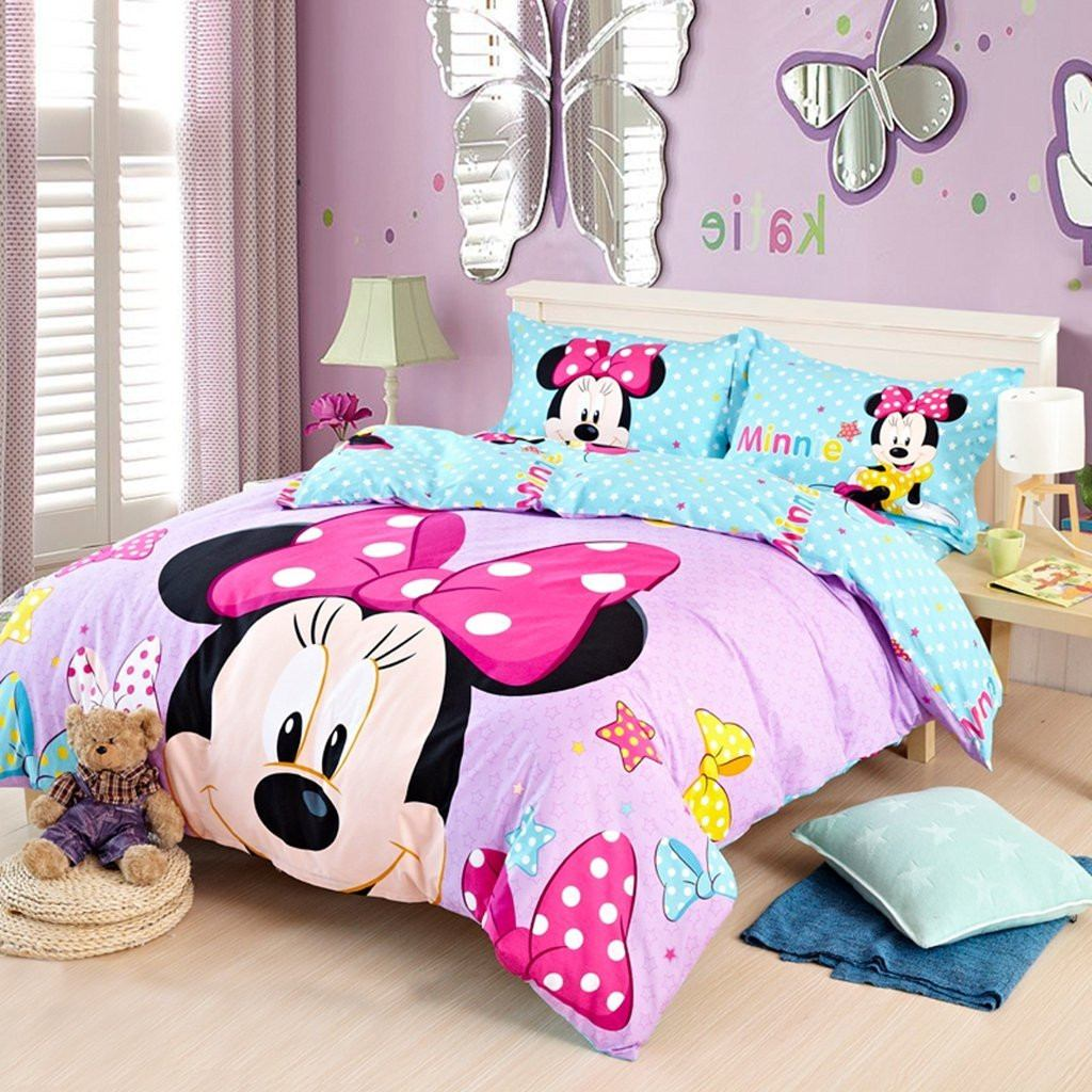 Edredon Minnie Mouse Disney Importado Queen 649 900 En