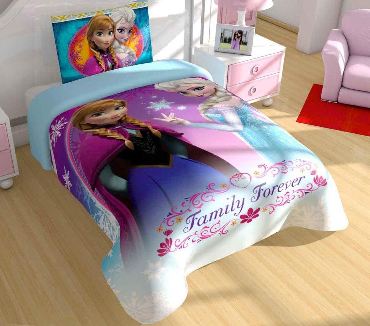 Edredon Providencia Hd Frozen Disney Individual   $ 499.00 en