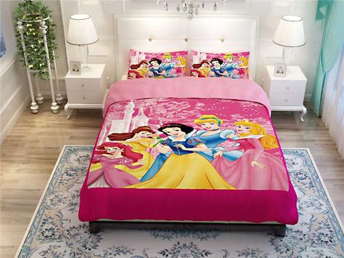 edredones para niños diseños disney princess/sirenita/frozen