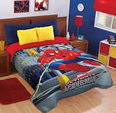 edredones para niños varios diseños disney hombre araña