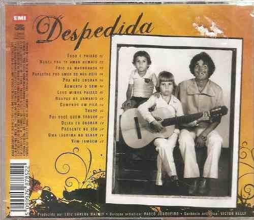 edson & hudson despedida cd lacrado original