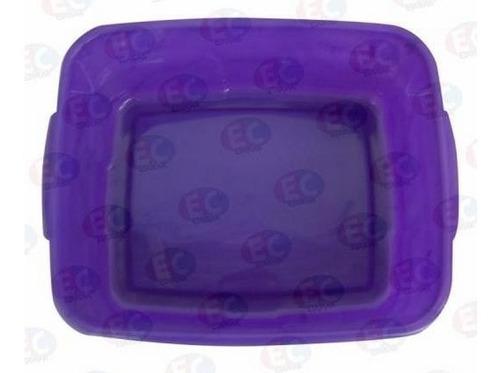 edu036 charola plástico material didactico varios colores