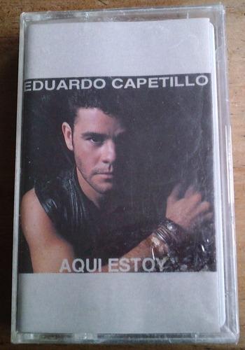 eduardo capetillo aqui estoy cassette 1993  bvf