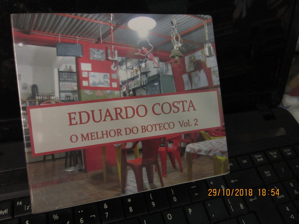 Eduardo Costa Box 4 Cds O Melhor Do Buteco Vol 2 Lacrado R 73 69